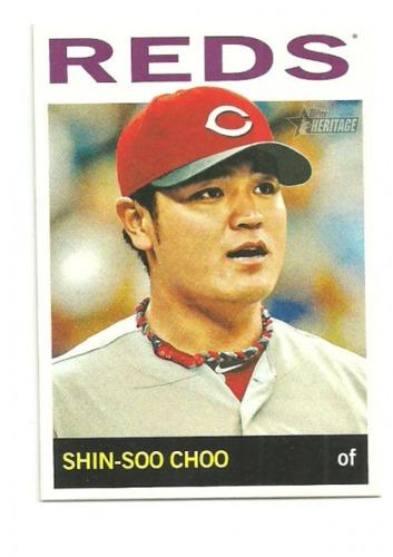 Photo of 2013 Topps Heritage #105 Shin-Soo Choo