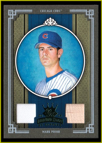 Photo of 2005 Diamond Kings Materials Framed Green #48 Mark Prior Bat-Jsy