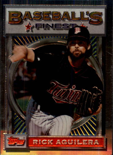 Photo of 1993 Finest #22 Rick Aguilera