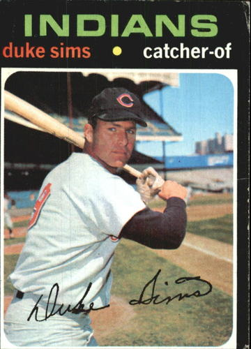 Photo of 1971 Topps #172 Duke Sims