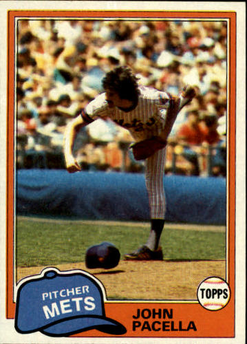 Photo of 1981 Topps #414 John Pacella DP RC