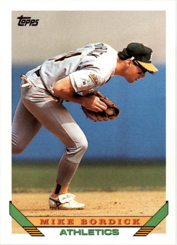 Photo of 1993 Topps #639 Mike Bordick