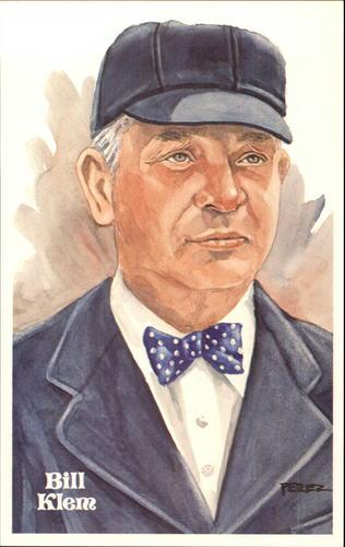Photo of 1980-02 Perez-Steele Hall of Fame Postcards #67 Bill Klem -- Set #08689