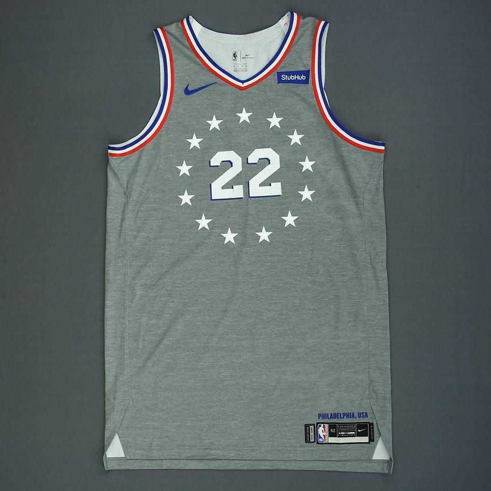 Wilson Chandler - Philadelphia 76ers - Game-Worn City Edition Jersey - 2018-19 Season
