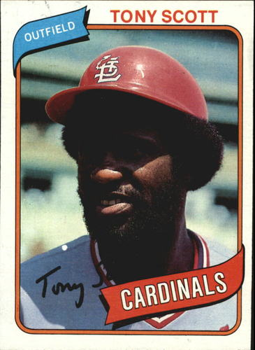 Photo of 1980 Topps #33 Tony Scott