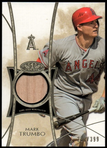 Photo of 2014 Topps Tier One Relics #TORMT Mark Trumbo/399
