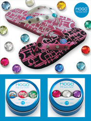 SPECIAL CLOSEOUT DEAL<br><br> Magnetic charms + flip flops = Fashionista FUN!  main image