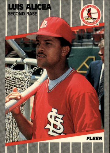 Photo of 1989 Fleer #443 Luis Alicea RC