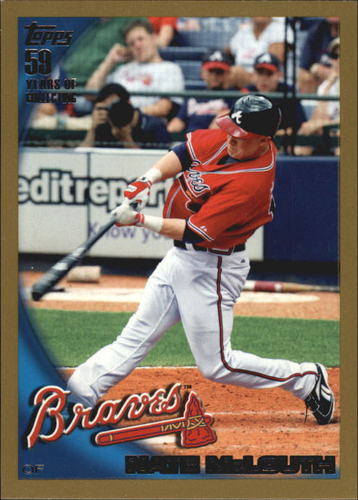 Photo of 2010 Topps Gold Border #477 Nate McLouth