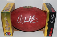 NFL - RAIDERS DEANDRE WASHINGTON SIGNED AUTHENTIC FOOTBALL