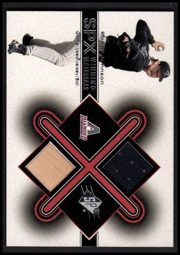 Photo of 2001 SPx Winning Materials Bat-Jersey #RJ1 Randy Johnson AS