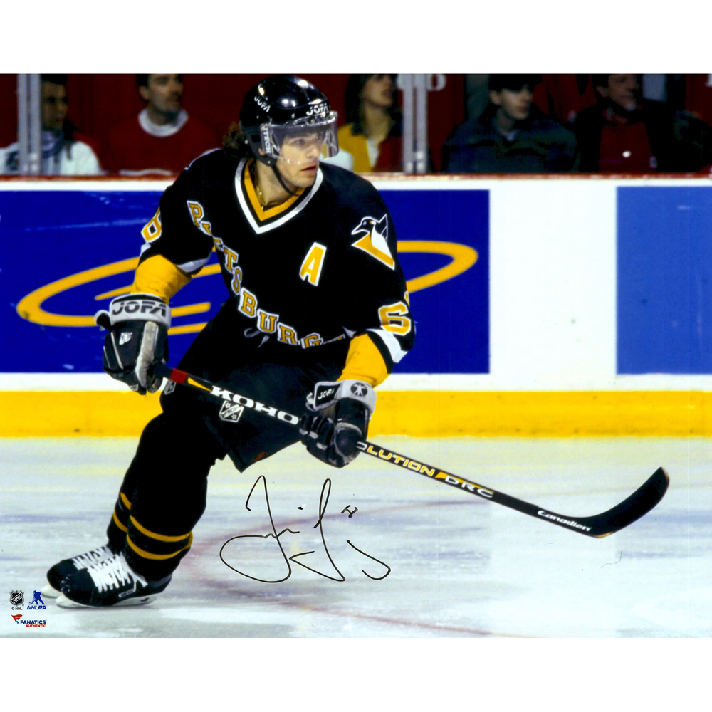 Jaromir Jagr Pittsburgh Penguins Autographed Skating 16