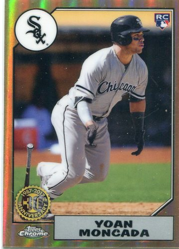 Photo of 2017 Topps Chrome '87 Topps #87T20 Yoan Moncada