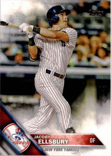 Photo of 2016 Topps #167 Jacoby Ellsbury