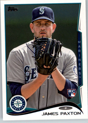 Photo of 2014 Topps #123 James Paxton RC