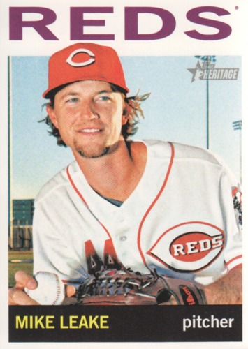 Photo of 2013 Topps Heritage #106 Mike Leake