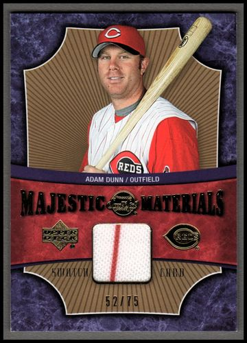 Photo of 2005 Sweet Spot Majestic Materials Gold #AD Adam Dunn