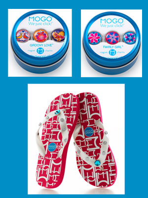 SPECIAL CLOSEOUT DEAL<br><br> Magnetic charms + flip flops = Fashionista FUN!  image 2