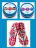 SPECIAL CLOSEOUT DEAL<br><br> Magnetic charms + flip flops = Fashionista FUN!  image 2+1