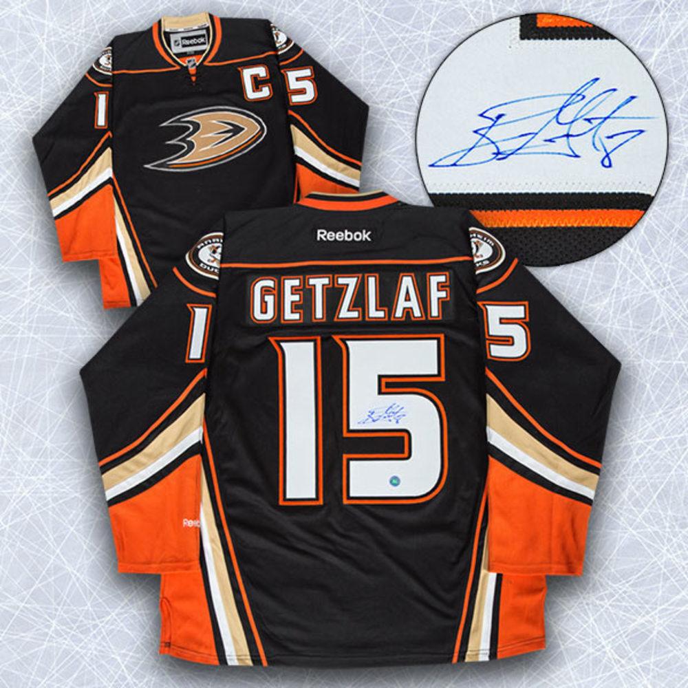 Ryan Getzlaf Anaheim Ducks Autographed Reebok Premier Hockey Jersey
