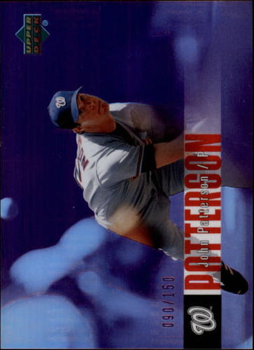 Photo of 2006 Upper Deck Special F/X Purple #490 John Patterson /150