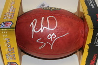 NFL - PATRIOTS RICHARD SEYMOUR SIGNED AUTHENTIC FOOTBALL