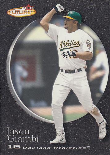 Photo of 2001 Fleer Futures Black Gold #100 Jason Giambi