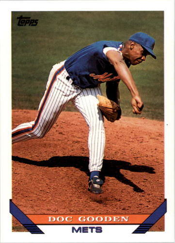 Photo of 1993 Topps #640 Dwight Gooden