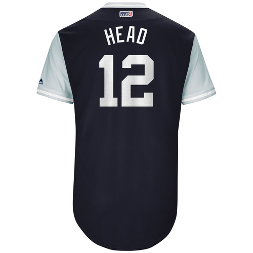 "Photo of Chase ""Head"" Headley New York Yankees Game-Used Players Weekend Jersey"