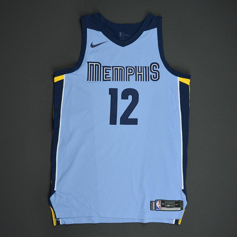 Tyreke Evans - Memphis Grizzlies - Statement Game-Worn Jersey  - 2017-18 Season