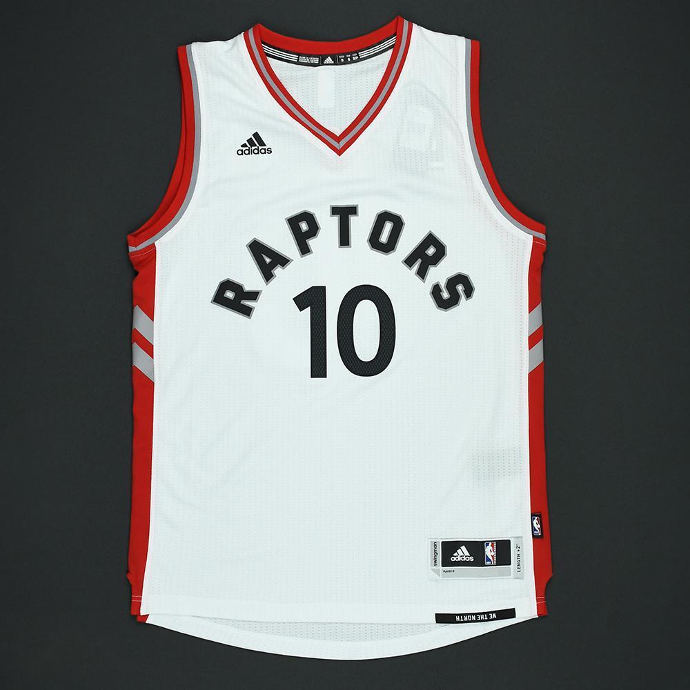DeMar DeRozan - Toronto Raptors - Autographed Jersey