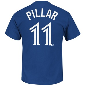Kevin Pillar Player T-Shirt by Majestic