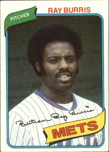 Photo of 1980 Topps #364 Ray Burris