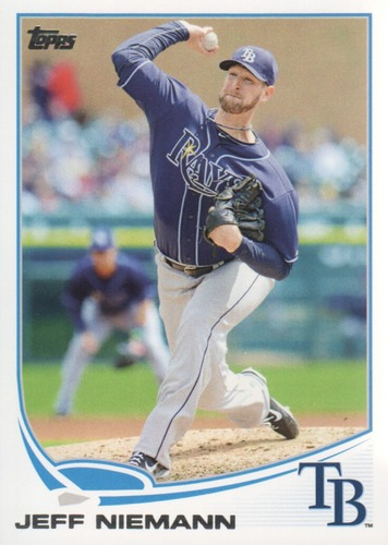 Photo of 2013 Topps #542 Jeff Niemann