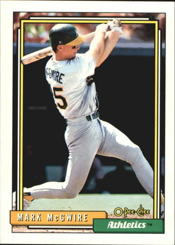 Photo of 1992 O-Pee-Chee #450 Mark McGwire