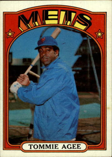 Photo of 1972 Topps #245 Tommie Agee