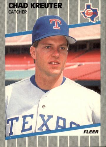 Photo of 1989 Fleer #526 Chad Kreuter RC