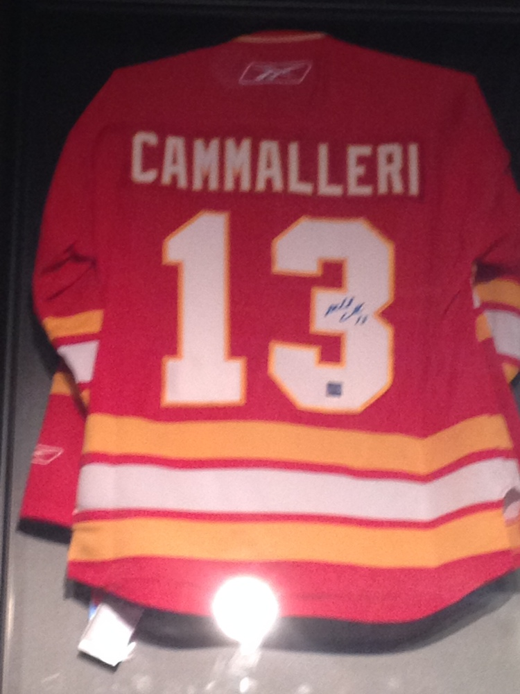 Mike Cammalleri - Signed Jersey 3rd Calgary Flames Jersey