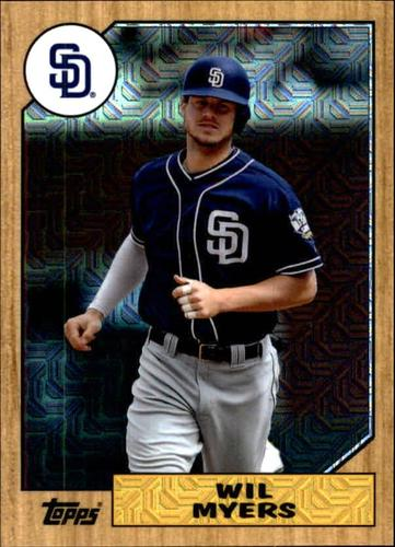 Photo of 2017 Topps '87 Topps Silver Pack Chrome #87WM Wil Myers