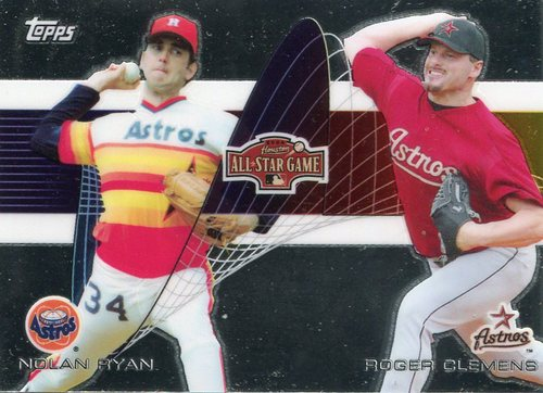 Photo of 2004 Astros Fanfest #12 Nolan Ryan/Roger Clemens/Topps