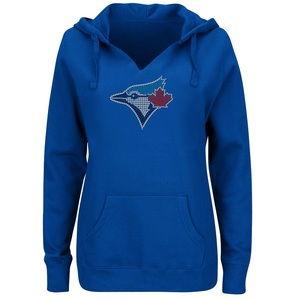 Toronto  Blue Jays Women's Dream of Diamonds Hoody by Majestic