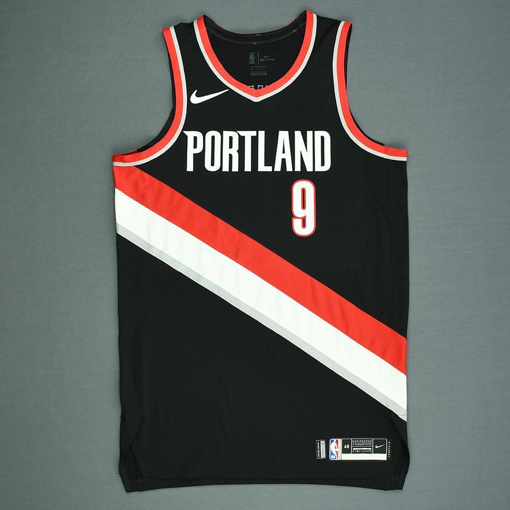 Gary Trent Jr. - Portland Trail Blazers - 2018 NBA Draft - Autographed Jersey