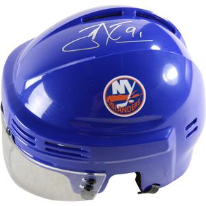 John Tavares Signed New York Islanders Replica Blue Mini Helmet