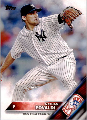 Photo of 2016 Topps #168 Nathan Eovaldi