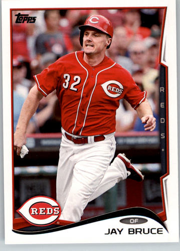 Photo of 2014 Topps #124A Jay Bruce