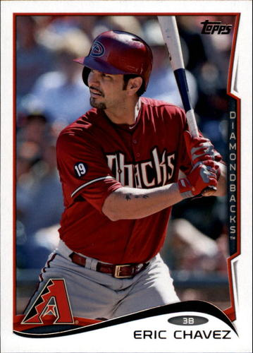 Photo of 2014 Topps Update #US158A Eric Chavez