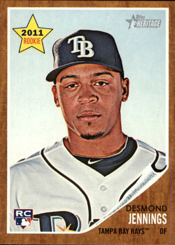 Photo of 2011 Topps Heritage #387 Desmond Jennings RC