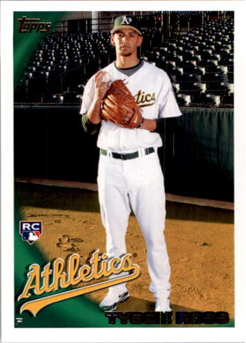 Photo of 2010 Topps #461 Tyson Ross RC