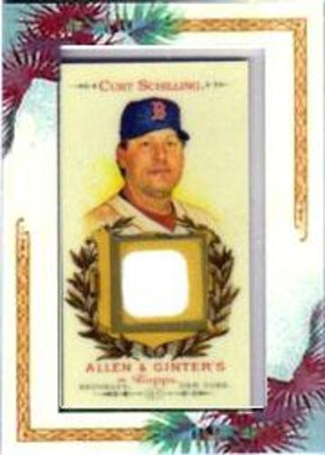 Photo of 2007 Topps Allen and Ginter Relics #CMS Curt Schilling J
