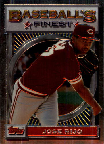 Photo of 1993 Finest #24 Jose Rijo